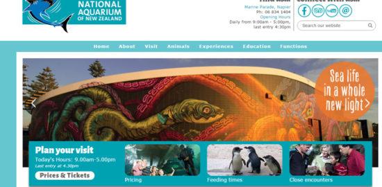 ニュージランドの水族館