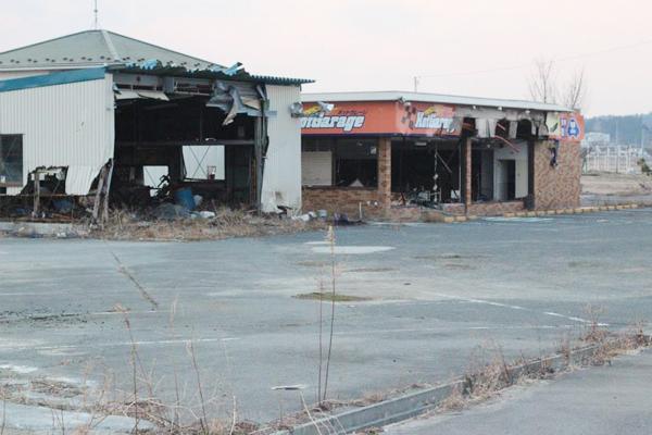 ボロボロの工場