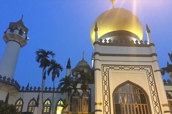 スルタン・モスクその2