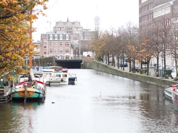 ハーグの運河