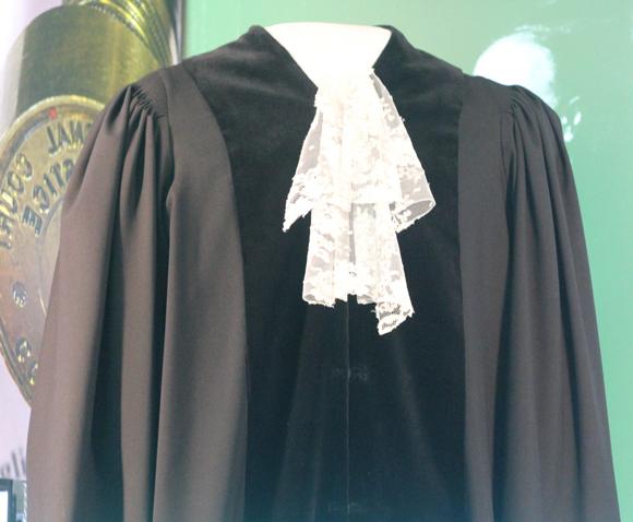 裁判官の衣装